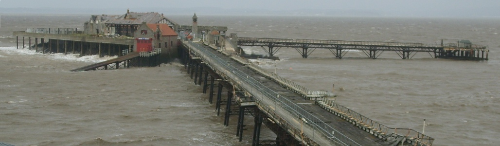 Birnbeck Pier, Weston-super-Mare, Somerset