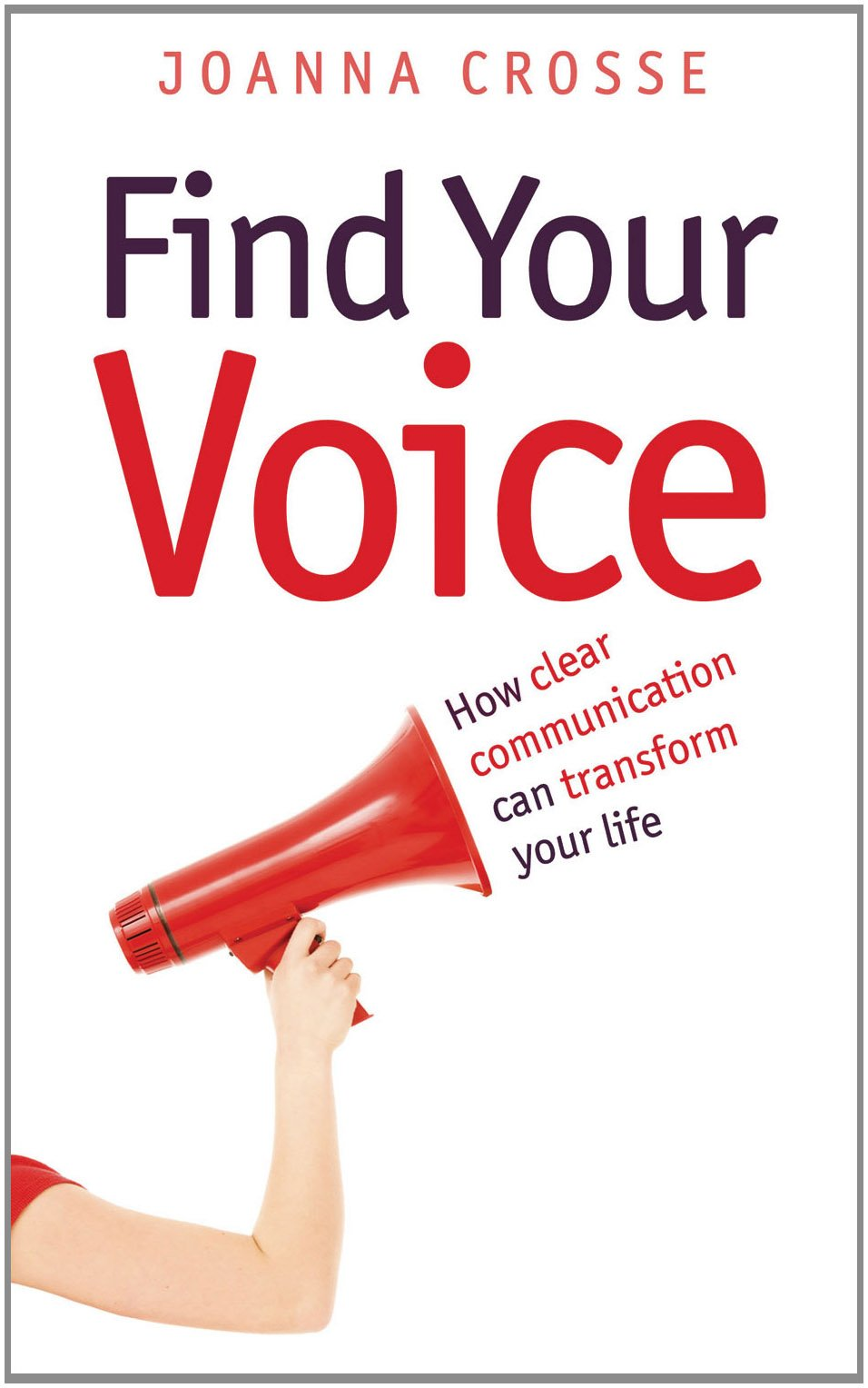 Image of book, Find Your Voice - Joanna Crosse, MetaMedia